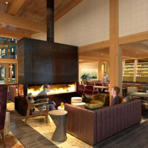 Kindred Resort Lobby Rendering