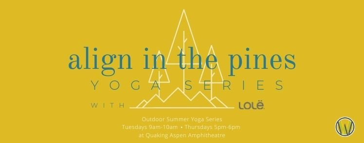 align in the pines