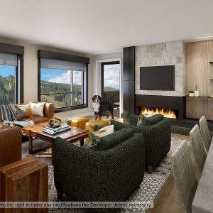 Typical Condo Living Room